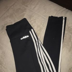 Adidas black leggings!